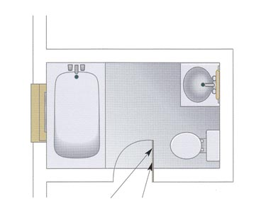 Bathroom Size Minimum : MINIMUM SIZE FOR BATHROOM » Bathroom Design Ideas